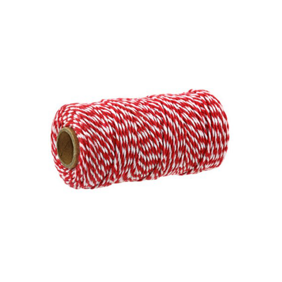 BAKERS TWINE BIG RED - WHITE