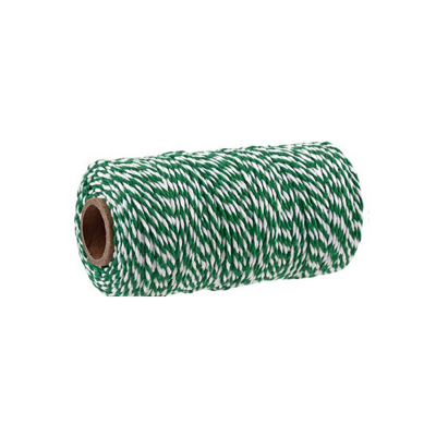 BAKERS TWINE GREEN-WHITE