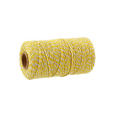 BAKERS TWINE YELLOW-WHITE