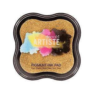 Pigment Ink Pad METALLIC GOLD