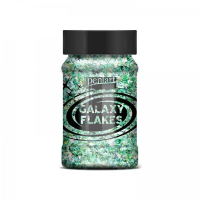 GALAXY VLOČKY, 100 ML, EARTH GREEN