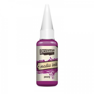 Media Ink Atrament 20 ml pivonka